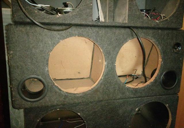 Box para sub ou woofer de 12 pol