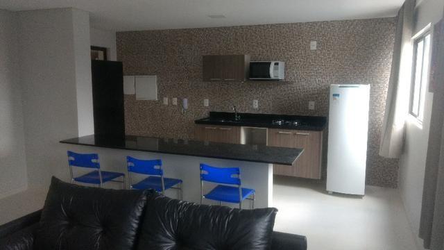 Apartamento novo mobiliado e bem localizado