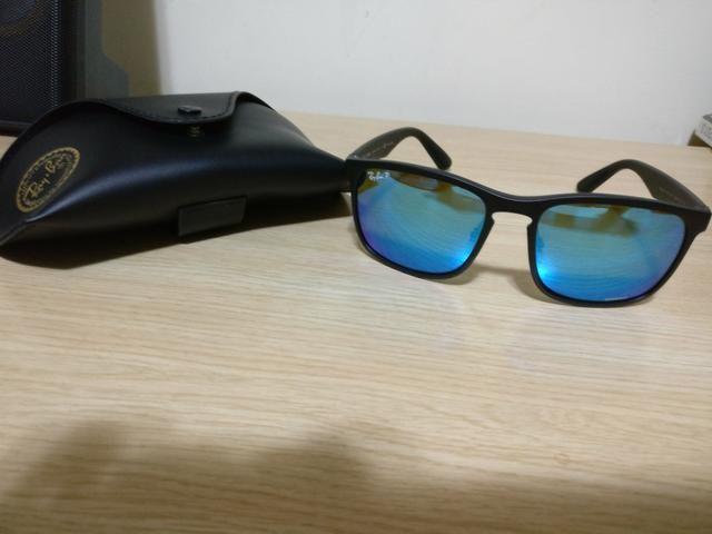 e33594232 Óculos de sol Ray Ban RB4264 Chromance polarizado - original, usado ...
