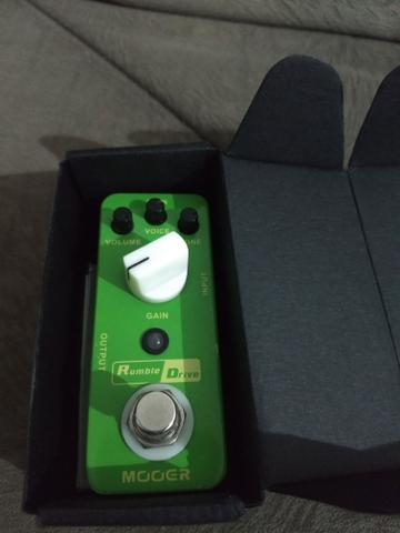 Pedal Overdrive Mooer Rumble Drive