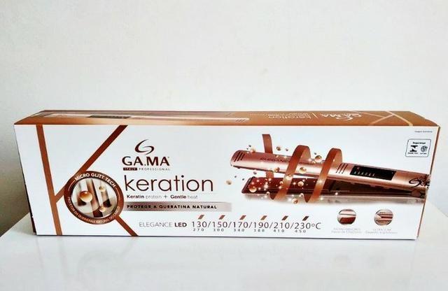 2c25d717c Prancha Ga.ma Italy Elegance Led Keration Pro - Bivolt - Beleza e ...