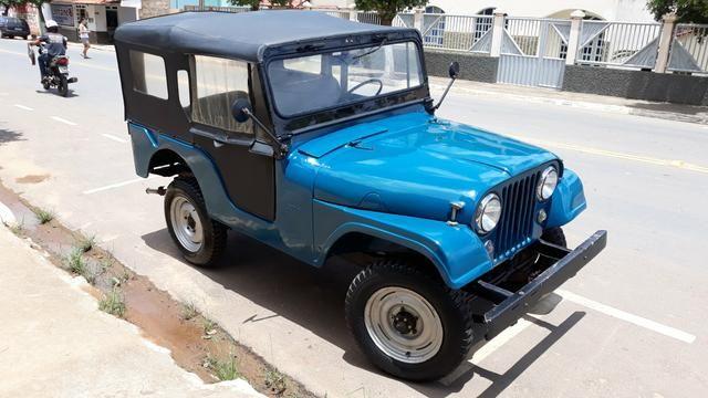 Jeep Willys 1957, há mais de 25 anos guardado duvido outro igual - Foto 2