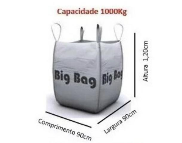 Big Bags venda capacidade 1000kg - Foto 5