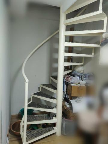 Escada Caracol / Espiral ferro