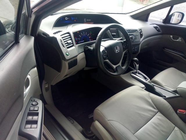 New Civic LXR automático 2014 bem cuidado - Foto 6