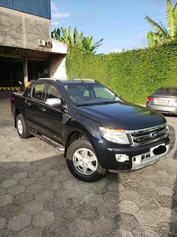 Ford Ranger Limited 2014 - Blindado - Diesel - Aceita troca - Foto 3