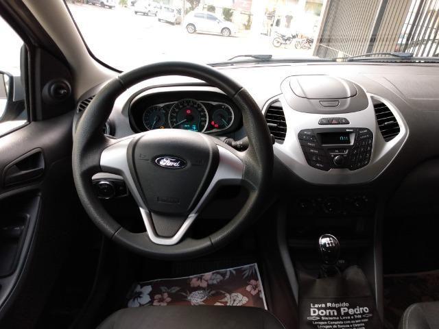 Ford Ka 1.0 SE prata - 2018 - Foto 6