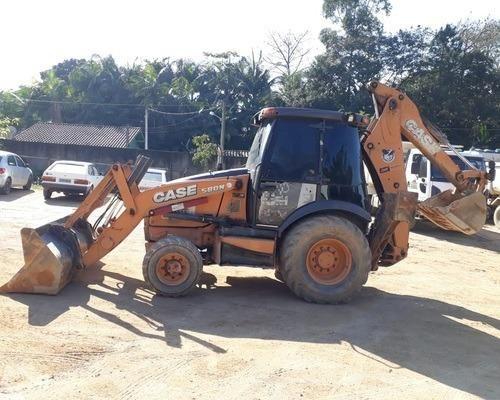 Retroescavadeira case 580n 13/13 - Foto 4