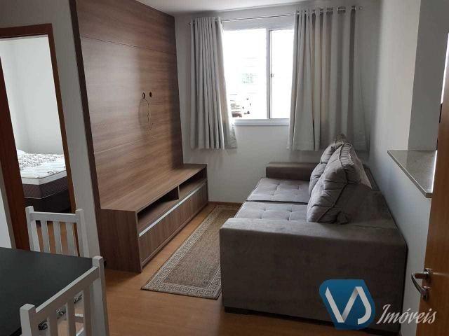 Apartamento mobiliado com 2 quartos no Cond. Lagoa Dourada - Jd. Acquaville, Londrina/PR - Foto 4