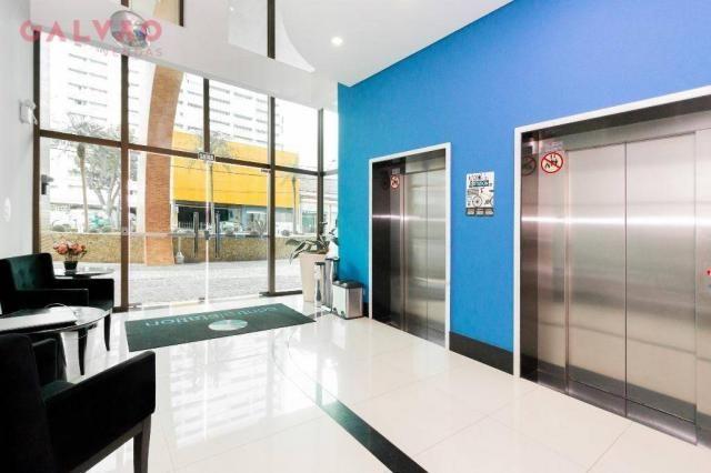 Apartamento com 1 dormitório à venda, 33 m² por R$ 238.156,90 - Centro - Curitiba/PR - Foto 13