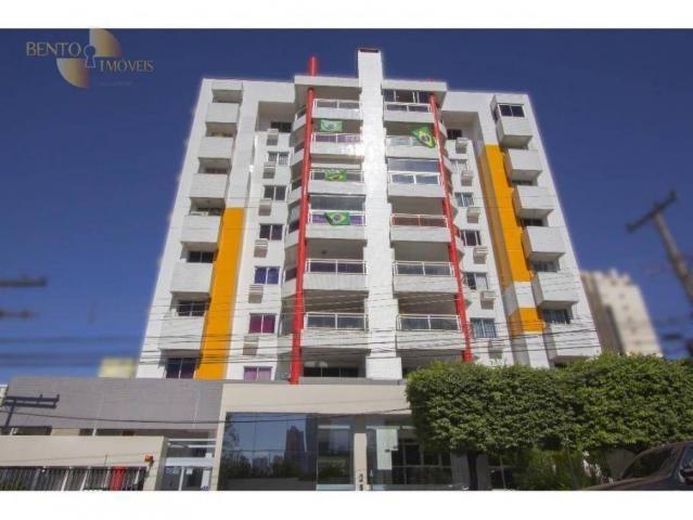 Apartamento com 3 dormitórios à venda, 120 m² por R$ 490. - Bosque da Saúde - Cuiabá/MT - Foto 8