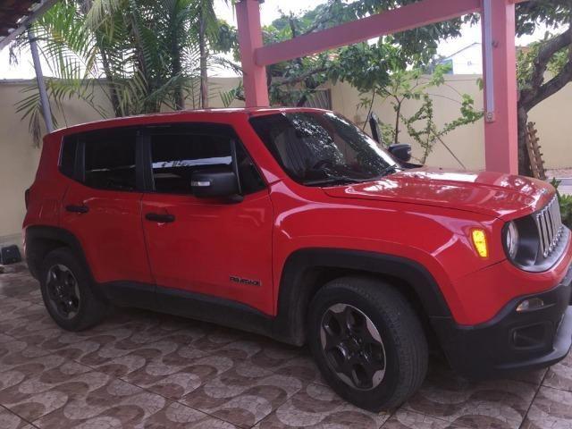 Jeep /renegade sport MT categoria partic de cor vermelha quitado,(15848) km - Foto 2