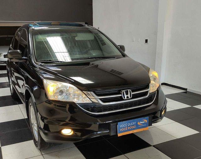 Honda crv, automático+ couro e teto solar