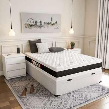 Colchão Double face e cama box bau preço de fábrica - Foto 2