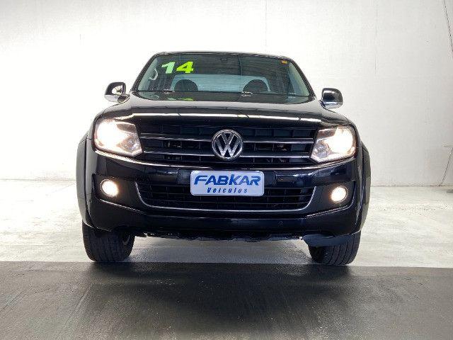 Volkswagen Amarok Highline 2.0 16V TDI 4x4 Dies. Aut 2014 - Unico dono - Revisada - Foto 2