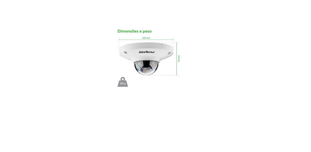 8 Cameras Em 1 Intelbras Fisheyes Ip 360º 8 Lados.5 Mil p/ 2700 - Foto 3