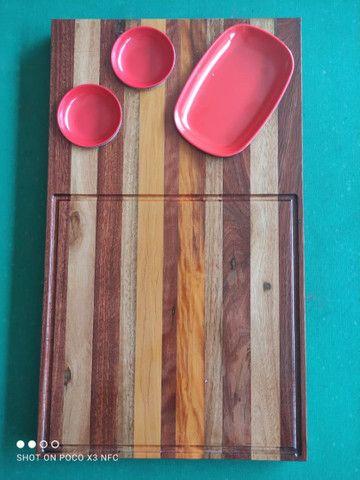 Tábua de madeira pura - Foto 2