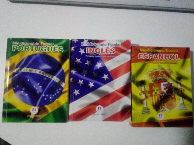 Minidicionários inglês, espanhol e português - Foto 4