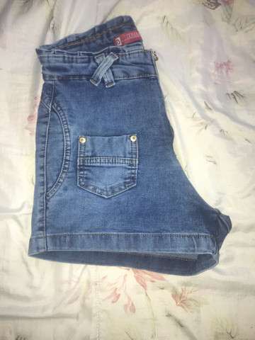 Calção jeans NOVO tm 40 - Foto 3