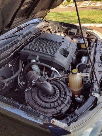 Hilux Sw4 2007 diesel 7 lugares pneus novos aceito troca - Foto 4