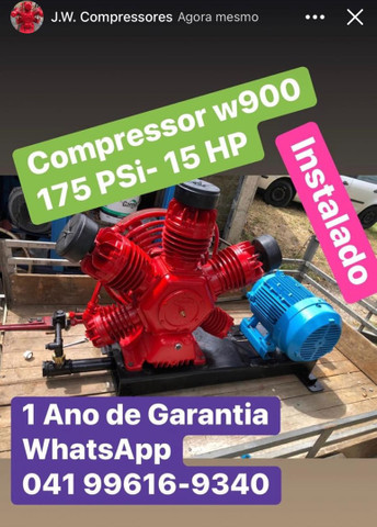 Compressor Wayne 60 Pés - Foto 2