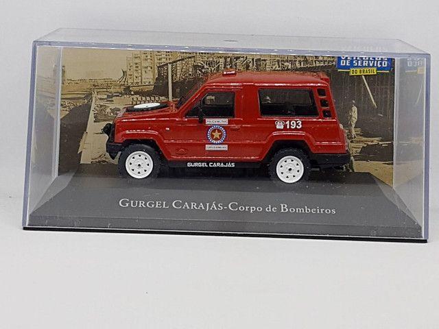 Miniatura Gurgel carajás corpo de bombeiros - Foto 6