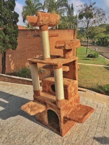 Arranhador de gato sem uso com vários andares,entrega grátis campinas e região  - Foto 3