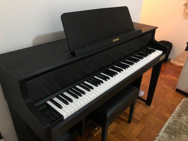 Piano Digital Casio Cleviano Grand Hybrid GP 300 - Foto 6