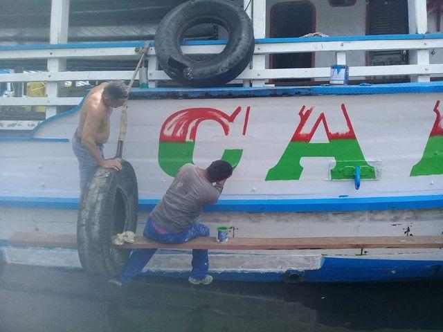 Vendo embarcações madeira, ferro, aço  - Foto 6