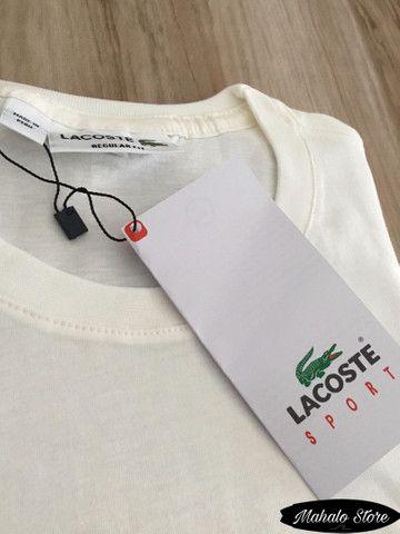 Camiseta LACOSTE - R$50,00