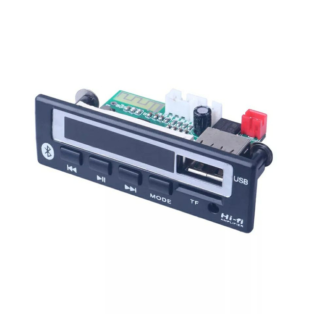 Placa decodificadora Fm, bluetooth, cartao - Foto 3