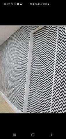 Tecidos decorativos em parede - Foto 6