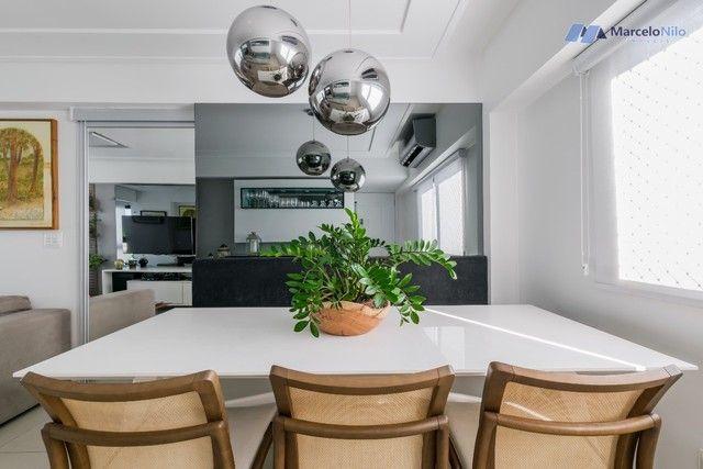 Apartamento  nos Aflitos, 75m2, 3 quartos, 2 suítes, 2 vagas soltas e mobiliado - Foto 4
