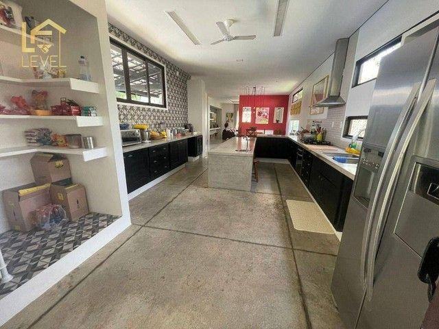 Casa com 3 dormitórios à venda, 910 m² por R$ 850.000,00 - Chácara da Prainha - Aquiraz/CE - Foto 16