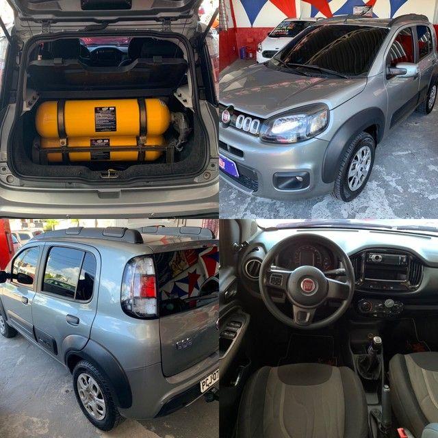 Fiat Uno Way 2016 com KIT GÁS Completo Otima Oportunidade