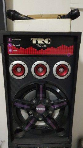 Caixa Amplificada TRC 388 com 500W - Em perfeito estado - Foto 2