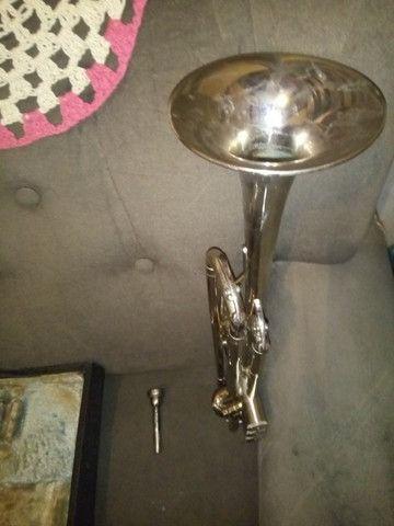 Trompete Completo com Estojo - Foto 5