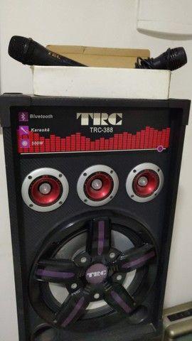 Caixa Amplificada TRC 388 com 500W - Em perfeito estado - Foto 4