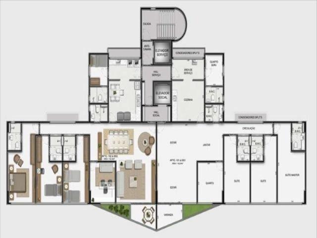 JS - Lindo apartamento em Boa Viagem - 04 Quartos - 02 Vagas - Camilo Castelo Branco - Foto 14