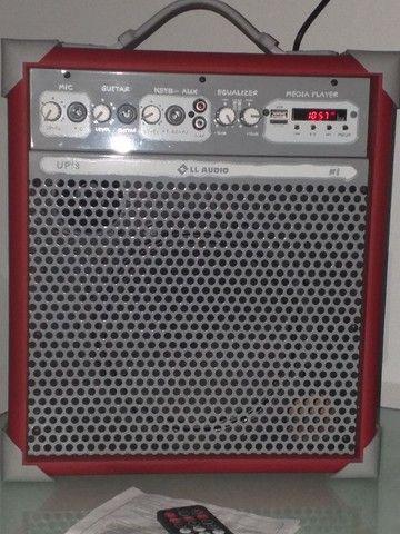 Caixa de som multifuncional (nova) - Foto 6