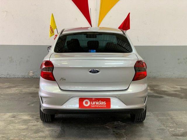 ka  sedan automático com 16.000 km modelo plus a pronta entrega  - Foto 5