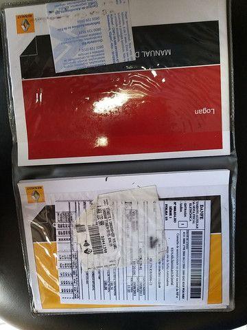 Logan Expr 1.6 Flex 2011 + ar CONDICIONADO E DH  - Foto 13
