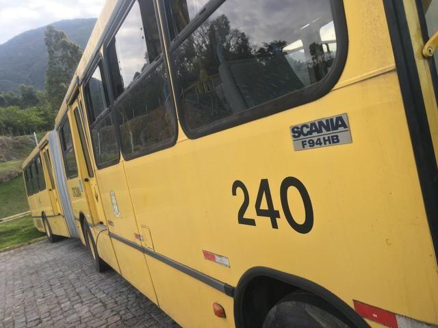 Vendo ônibus Scania 2000 bi-ônibus - Foto 6