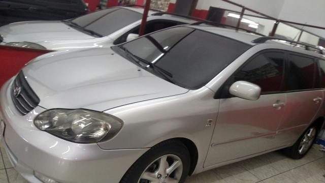 Toyota Corolla Fielder 2007 Automático Blindado