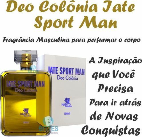 Perfume Masculino Hábito Cosméticos Colônia Iate Sport Man 100 ml - Foto 3