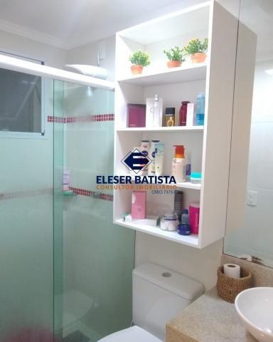 Apartamento à venda com 3 dormitórios em Residencial praças sauípe, Serra cod:AP00169 - Foto 12