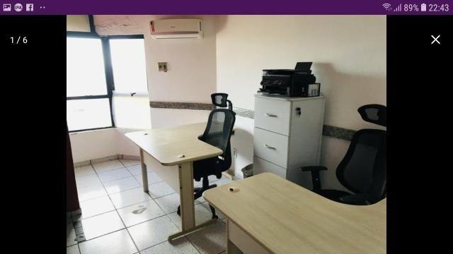 Alugo sala 100% mobiliada por r$ 1100 cond incluso - Foto 2