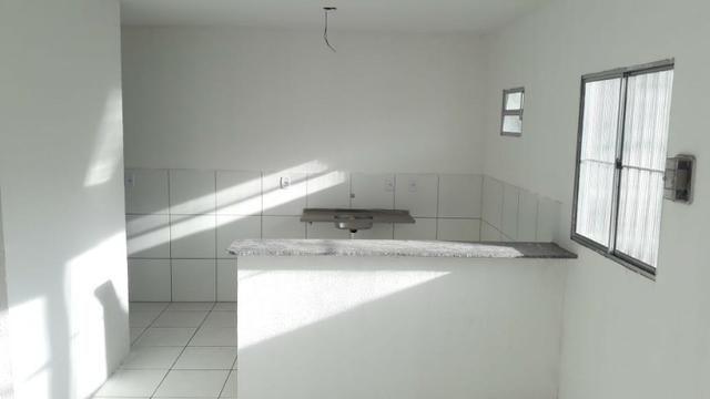 Casas cond. Fechado, 3/4,salão de festas, ITBI e Reg. grátis, s/entrada e parc/ R$ 446,72! - Foto 10