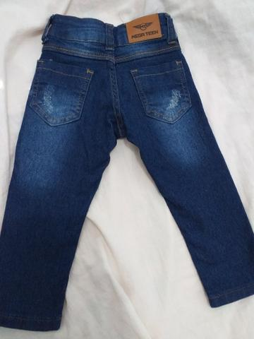 Vendo calça jeans masculina infantil