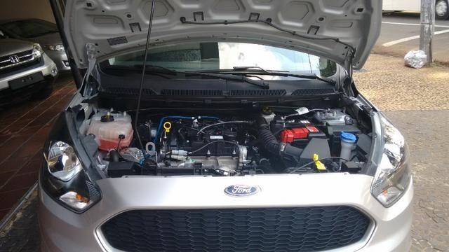 Ford Ka 1.0 SE prata - 2018 - Foto 9